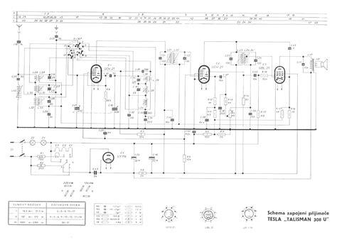 tesla schematic diagram wiring information diagram parts list for model dm130lc