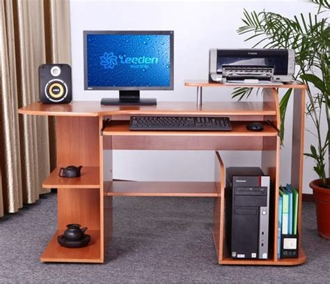 7 model desain meja komputer yang nyaman untuk kerja