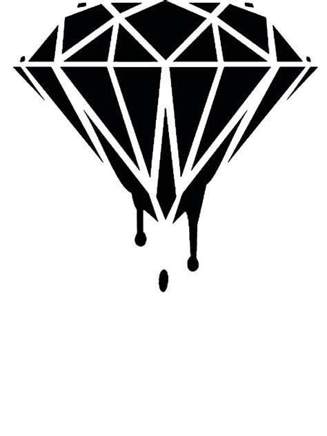 quot melting diamond quot stickers by rara25 redbubble
