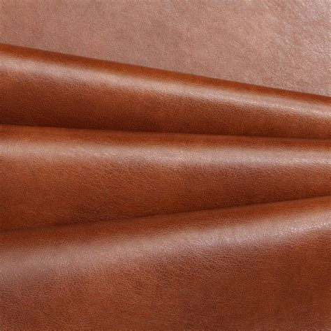 Genuine Leather Upholstery Fabric by Recycled Gloss Smooth Eco Genuine Real Leather Hide