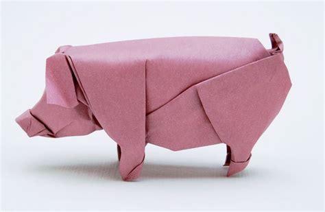 Origami Pigs - origami pig paper