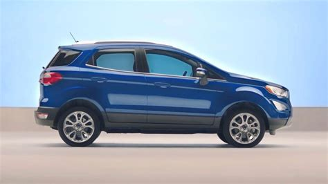 New Ford 2018 Ecosport by 2018 Ford 174 Ecosport Compact Suv Compact Features Big