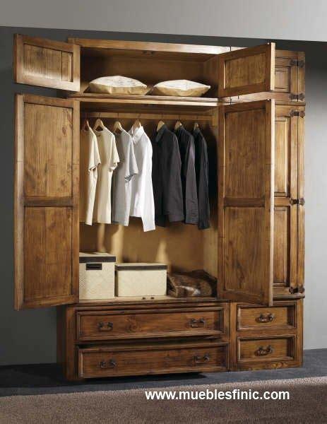 armarios rusticos armario rustico ropero rustico muebles vintage