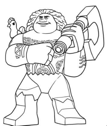 imagenes para colorear moana dibujos de moana lego para colorear princesas disney