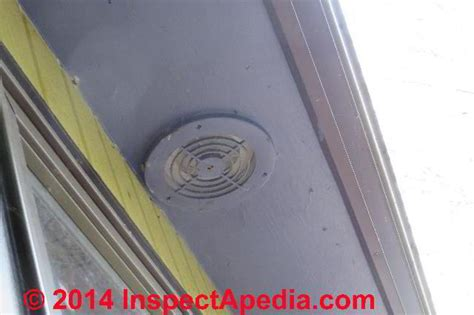 bathroom exhaust fan terminations at walls roofs bath