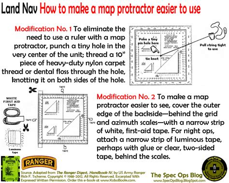 printable map roamer the spec ops blog how to make a map protractor and utm