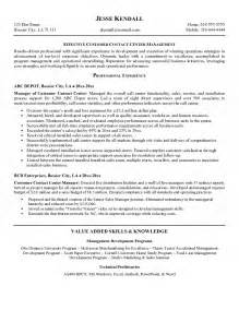 Resume Call Center Objective Call Center Agent Resume
