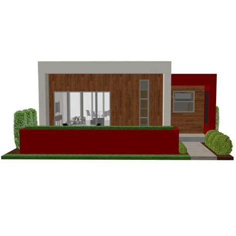 Single Floor House Plans India by Contemporary Casita Plan Small Modern House Plan