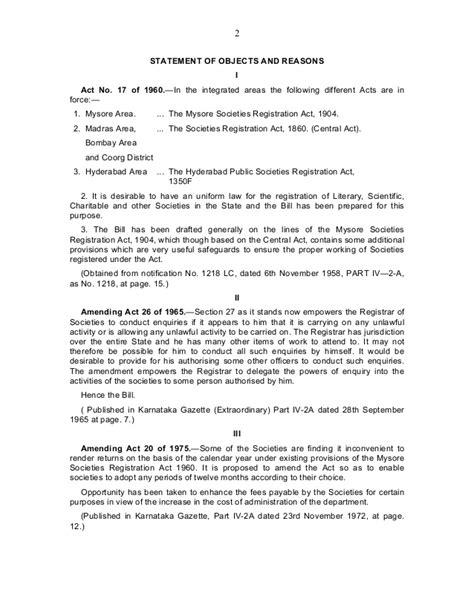Registration Of Apartment Owners Association In Karnataka Apartment Management The Karnataka Societies Registration