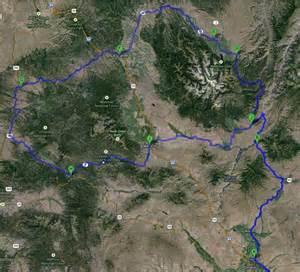 hells oregon map n idaho e oregon route adventure rider
