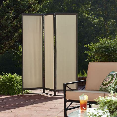 outdoor room dividers privacy screens outdoor portable room divider sears