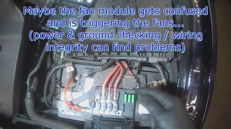 jetta radiator fans not working vw a4 cooling fan behavior