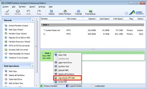 converter gpt to mbr windows 7 convert mbr to gpt disk without losing data