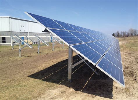 Solar Rack by Ground Mount Vendors And Systems Page 4 Of 6 Solarpro Magazine