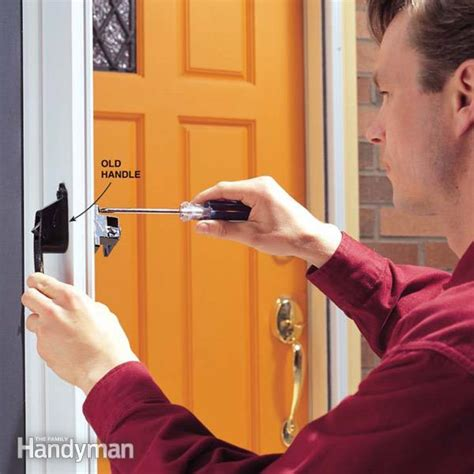 how to fix your broken door handles the family