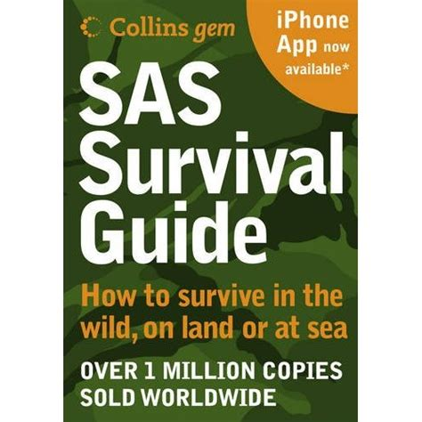 survival books collins gem book sas survival guide