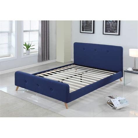 scandinavian bed frame modern scandinavian queen size fabric bed frame temple