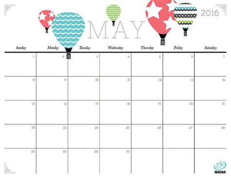cute printable planner 2016 pdf cute and crafty 2016 printable calendar