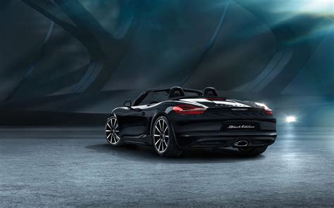 porsche boxster 2015 black 2015 porsche boxster black edition 2 car wallpapers