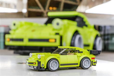 lego porsche size porsche museum shows size 911 turbo made from