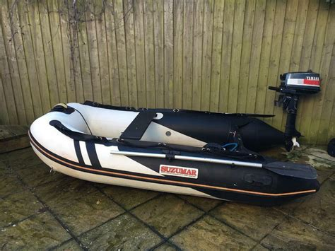 inflatable boats devon suzumar inflatable dinghy package ds 265 in dartmouth