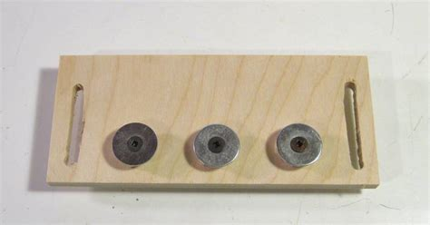 dowel template using the pantorouter