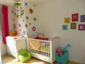 Delightful Decoration Chambre Bebe Fille #3: Decoration-chambre-bebe-cher-33780.jpg