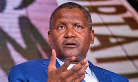 billionaire aliko dangote this is when i plan to buy arsenal football sport