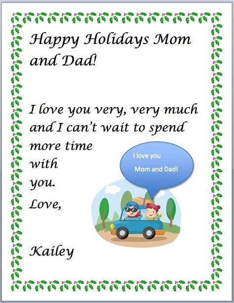 Letter Closing Happy Holidays Happy Holidays Greeting K5 Computer Lab