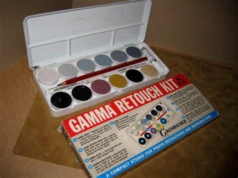 chalk paint gamma vintage photograph gamma retouch paint set by grumbacher