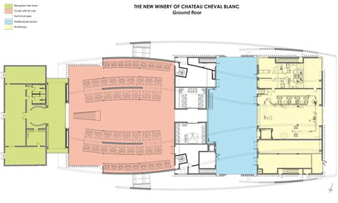 Winery Floor Plans gallery of chateau cheval blanc winer christian de