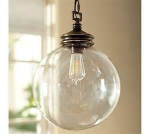 Pottery Barn Pendant Light Calhoun Glass Pendant Pottery Barn