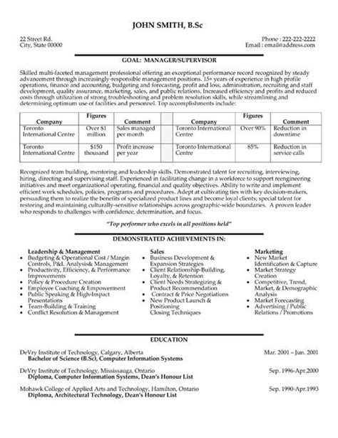 Information Technology It Resume Sle Resume Companion Custodian Resume Sles 32 Best Education Based Resume Template