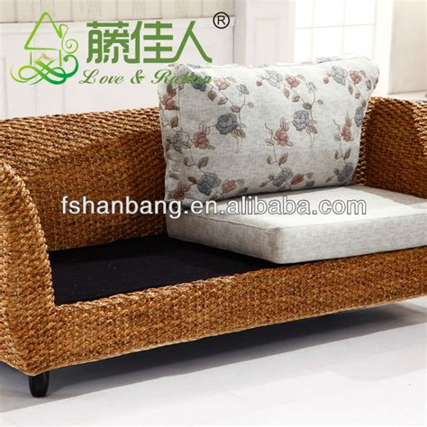 seagrass loveseat high quality indoor seagrass sofa sets view seagrass sofa