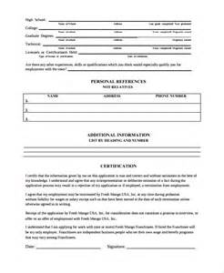 document history template sle work history template 9 free documents