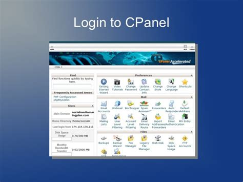 how to install template in cpanel installing joomla using cpanel