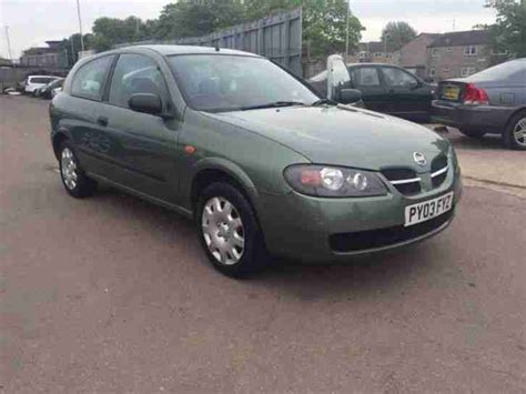 almera nissan car nissan 2003 almera 1 5 s 3dr car for sale