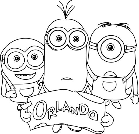 minions coloring pages king bob minions orlando coloring page king bob coloring page