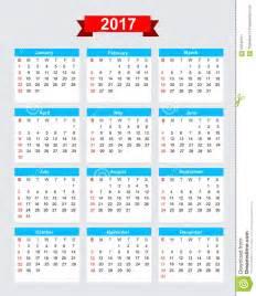 calendario 2017 da stare jpg come 231 o domingo da semana de calend 225 rio 2017 ilustra 231 227 o do