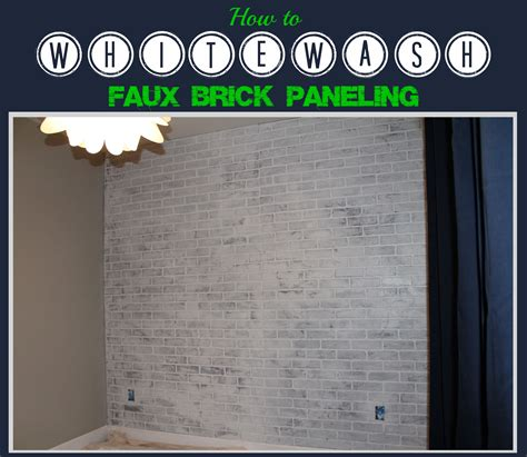 whitewash wood paneling quotes how to paint faux brick paneling