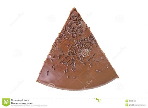 best slice of top view of a slice of chocolate fudge cake stock images