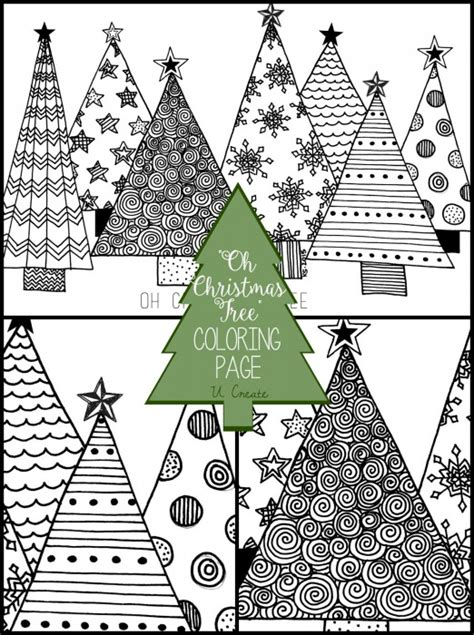 Baby Shower Crafts Pinterest by Quot Oh Christmas Tree Quot Coloring Page U Create