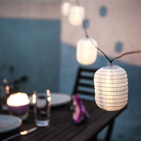 Warm White Lantern Solar Lights By Lights4fun Warm White Solar Lights