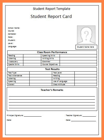 virginia report card template 7 progress reports for students template progress report