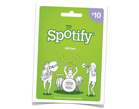 What Can You Do With A Spotify Gift Card - spotify gift cards now available at target geeky gadgets