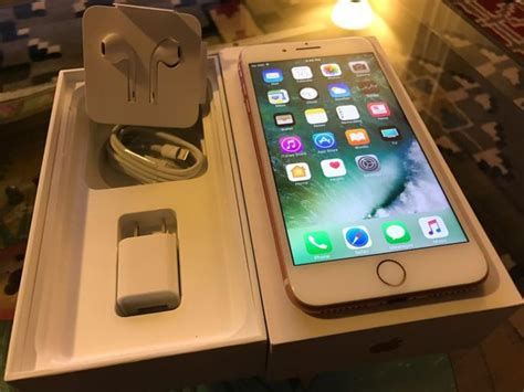original apple iphone 7 plus 128gb telephone navigation comes with complete accessories and