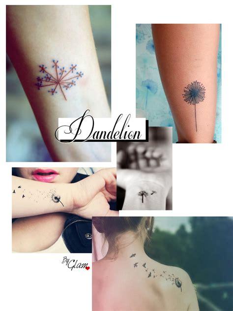tattoo ideas 3 dandelion i mademoiselle stef