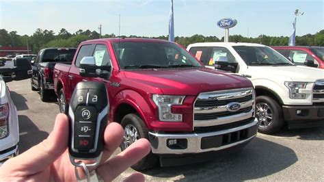 ravenel ford 2017 new ford f150 lariat new truck walkaround review