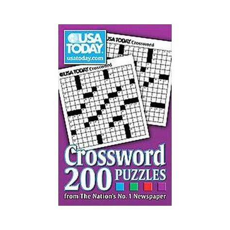 usa today crossword nov 21 usa today crossword paperback by usa today target