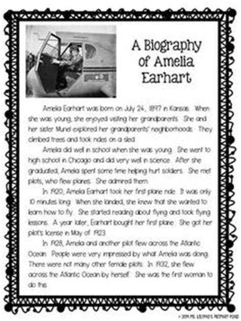 celebrity biography ks2 how to write a biography for kids template google search